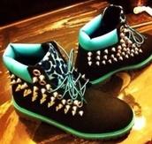 shoes,studs,veters,schoenen