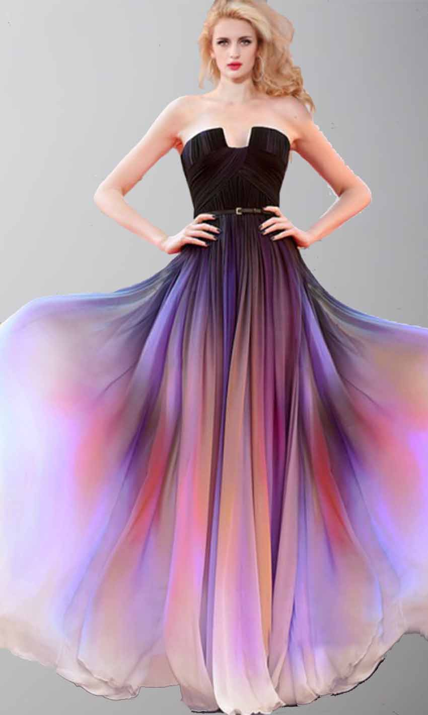 097eae338308c Beautiful Sunset Long Ombre Cape Prom Dresses KSP421 [KSP421] - £110.00 :  Cheap Prom Dress UK, ...