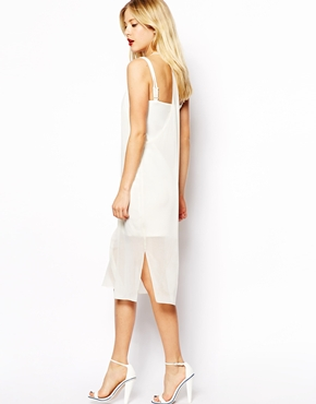 ASOS | ASOS Sheer Overlay Mini Dress at ASOS