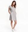 H&M Tricot jurk met korte mouwen 14,99