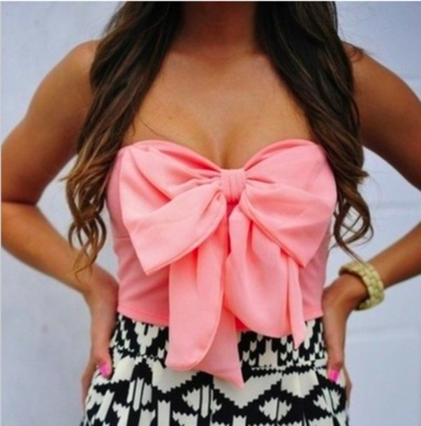 blouse bows bow top