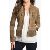 jacket,black leather jacket,elenagilbertjacket,nina dobrev,elena gilbert,tvseries,the vampire diaries,fashion,style,womenswear,womensjacket,brown jacket,leather jacket,ootd