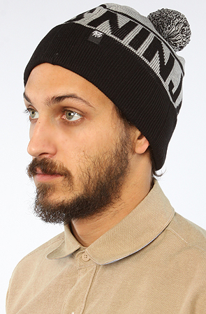 RockSmith The Ninjas Beanie in Black and Gray -  Karmaloop.com