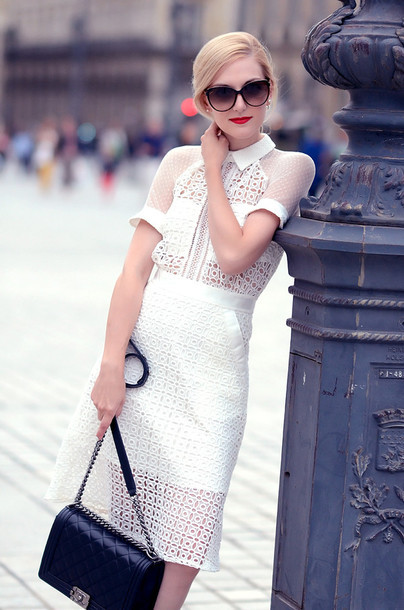 Cute hot hollow out fresh elegant dress