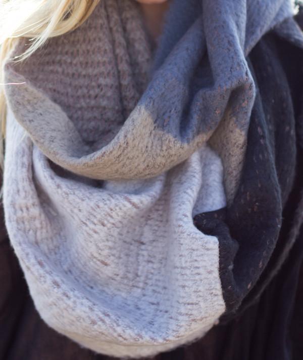 scarf deco scarves warm knitwear infinity