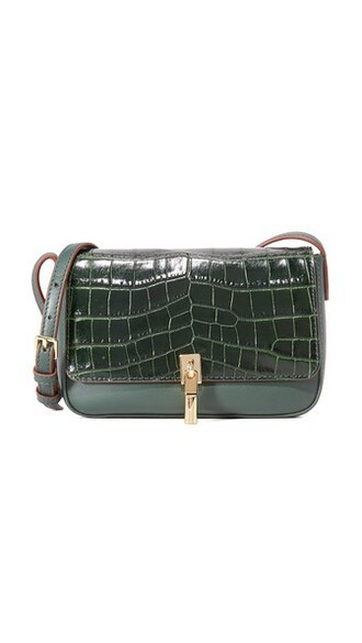 cross bag black green