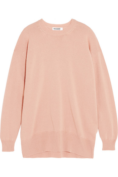 Jil Sander | Oversized cashmere sweater | NET-A-PORTER.COM