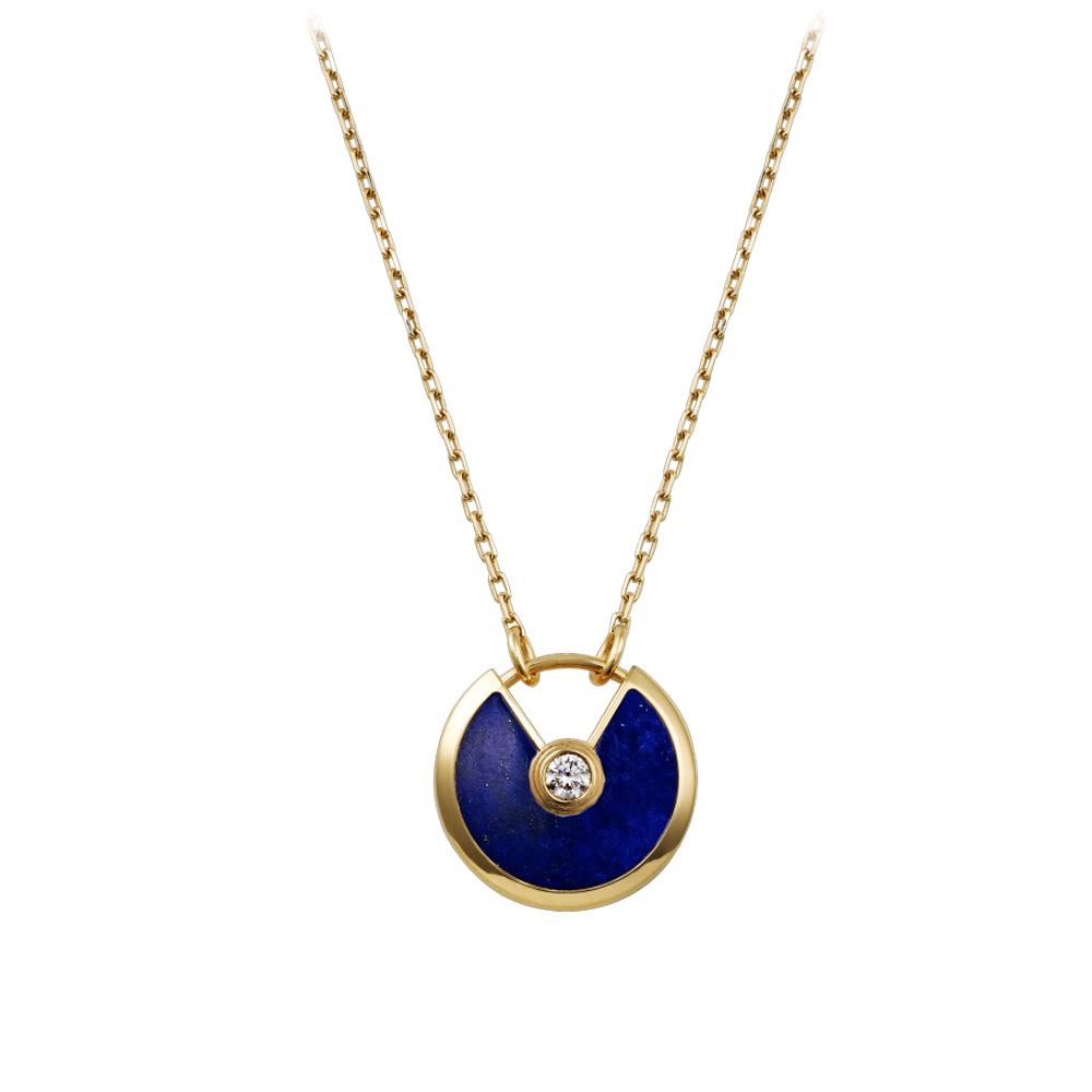 Gold Necklace That Says Love