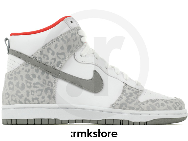 Nike wmns dunk high skinny leopard pack white grey sunburst (429984