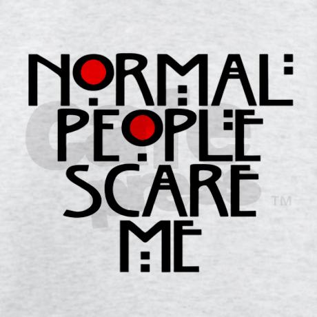 Normal People Scare Me Jumper by TateLangdon