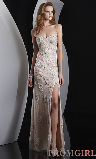 Prom Dresses, Celebrity Dresses, Sexy Evening Gowns - PromGirl: Strapless Sweetheart Prom Dress by Jasz
