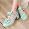 Lolita frilly shoes with bows from candyfrizz stars on storenvy
