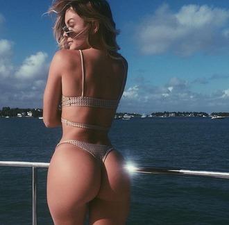 swimwear acacia brinley casi davis model babe ishine365 bikini pipeline