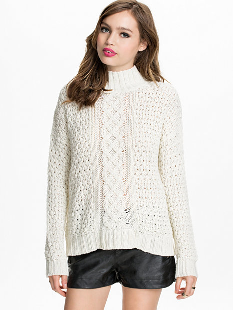 Chunky polo sweater, nly trend