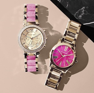 jewels watch pink michael kors watch