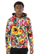 Joyrich Sunrise Blossom Floral Patterned Sweat Pants - Spurbe, Spurbe