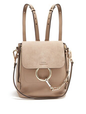 backpack,leather backpack,leather,suede,grey,bag