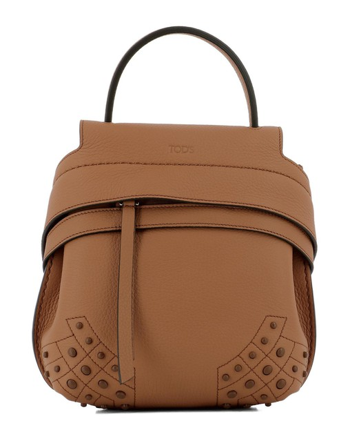 Tods bag leather brown