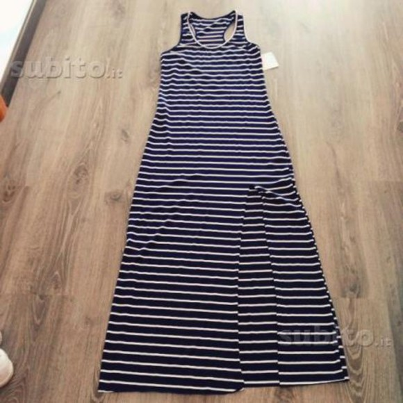 dress slits girly striped dress summer outfits dress with slit