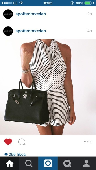 bag play suit stripes striped shirt