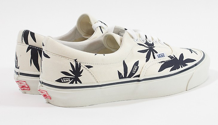 Vault palm leaf era lx white / navy