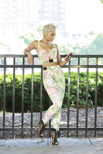 jeans jean set floral skinny jeans outfit