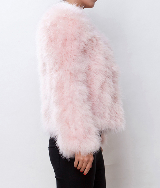 Fur Fever Jacket Soft Pink - Pellobello