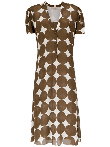 Adriana Degreas dress midi dress women midi silk