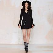 dress,luulla,black dress,sexy dress,ruffle,pretty,fashion,fashionista,style,stylish,black and white,cute,cute dress,love,lovely,girl,girly dress
