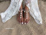 Talulah foot piece silver