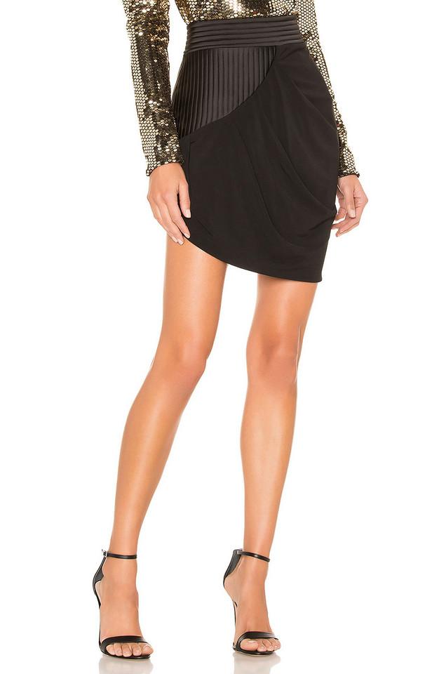 Zhivago It Has Come Mini Skirt in black