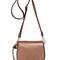 Small k metallic leather shoulder bag