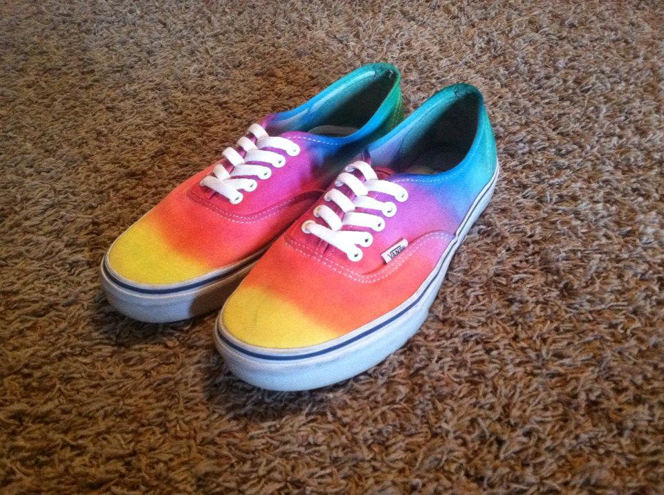 regenbogen vans