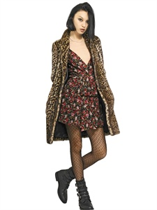FUR & SHEARLING - SAINT LAURENT -  LUISAVIAROMA.COM - WOMEN'S CLOTHING - FALL WINTER 2013
