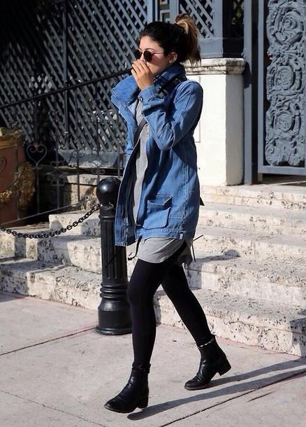 Jacket Denim Jacket Kylie Jenner Shoes Wheretoget