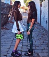 pants,mermaid leggings,leggings,scales,grunge,alternative,fashion,green,skirt