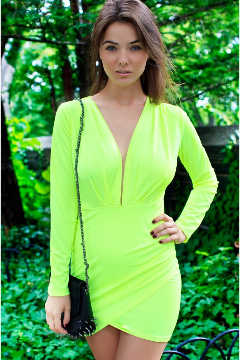 Neon daze dress
