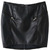 ROMWE | Asymmetric Double Zipper Embellished Faux Leather Skirt, The Latest Street Fashion