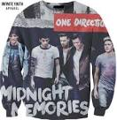 infinite youth apparel one direction sweatshirt midnight memories - Google Search