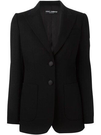blazer women spandex black silk wool jacket