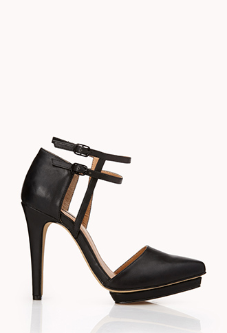 Sleek D'Orsay Pumps | FOREVER21 - 2000128492