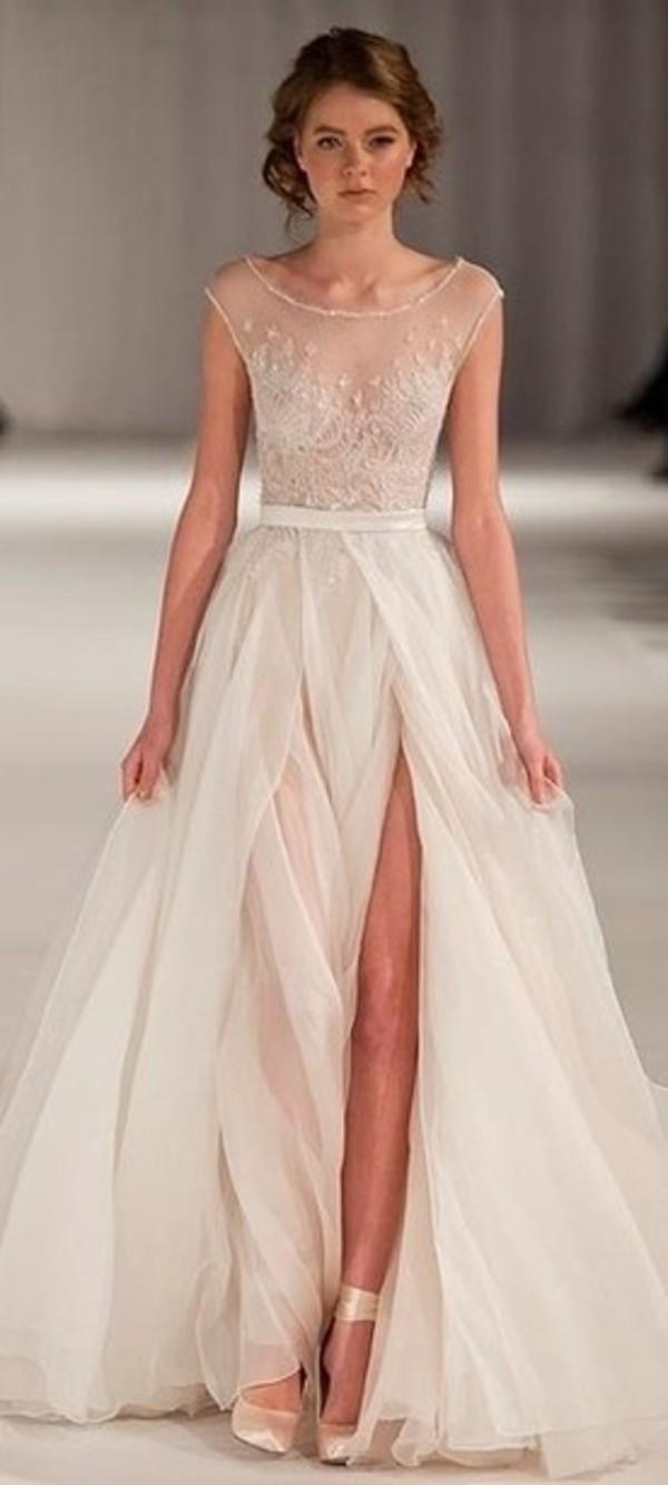 dress white elegant enchanted dress prom pretty