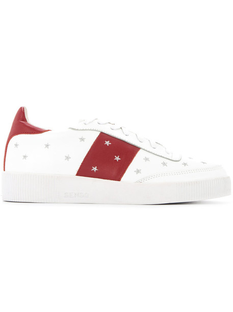 Senso women sneakers leather white shoes