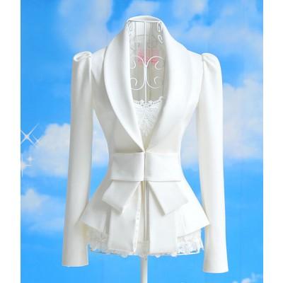 Buy Fashion Clothing -  Slim Bow  Long-sleeved Women's Suit Jacket