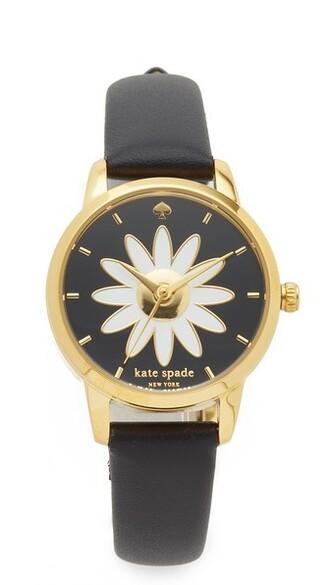 mini watch black jewels