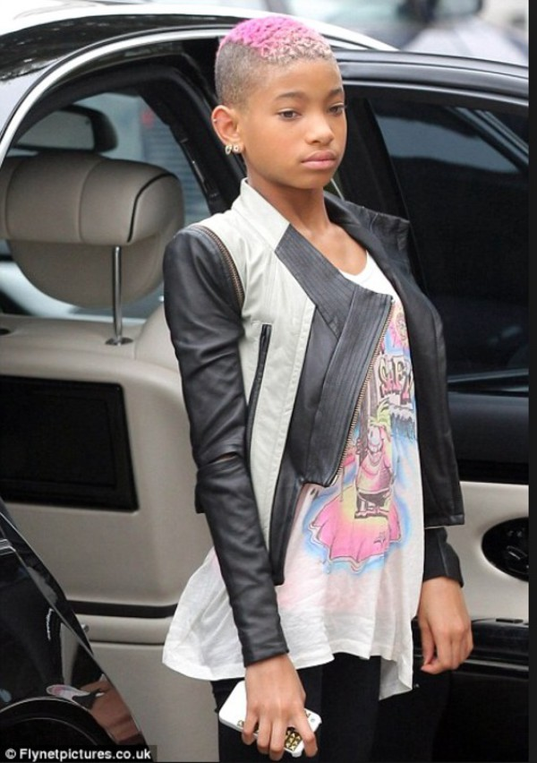 jacket willow smith black white leather jacket