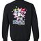 Cartoon network wack racing sweatshirt back