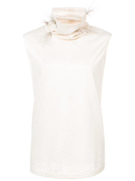 top sleeveless top sleeveless women white