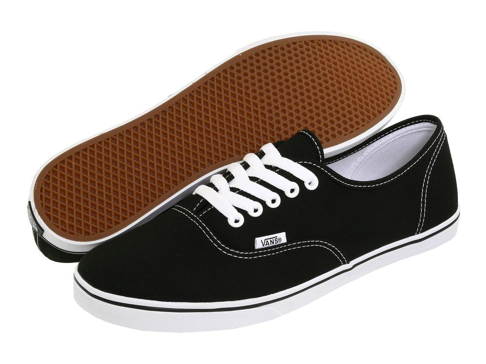 vans authentic black womens