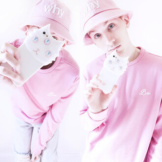 phone cover cats pink iphone cover iphone case pastel phone case pastel blogger candy cotton tumblr fashion instagram cute grunge pastel goth pastel pink pastel grunge pastel green